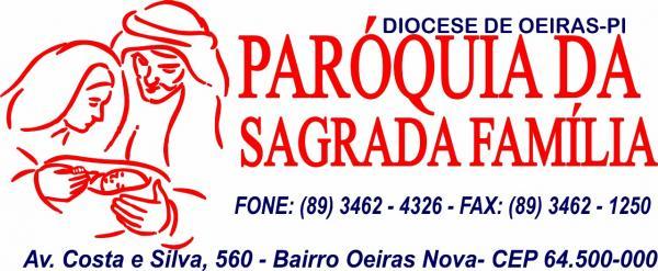 Programação da Paróquia da Sagrada Família- Oeiras