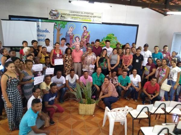 I seminário da juventude aconteceu em Oeiras realizado pelo CEFAS