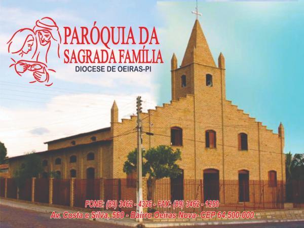 Confira a programação da Paróquia da Sagrada Família para o mês de Agosto