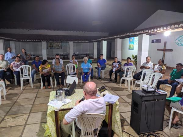 Membros do conselho de pastorais da Sagrada Família se reúne para discutir ações