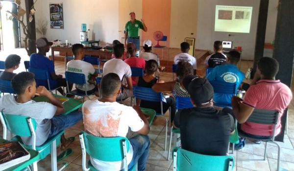 Em Oeiras curso de irrigação visa melhorar a gestão e produção rural