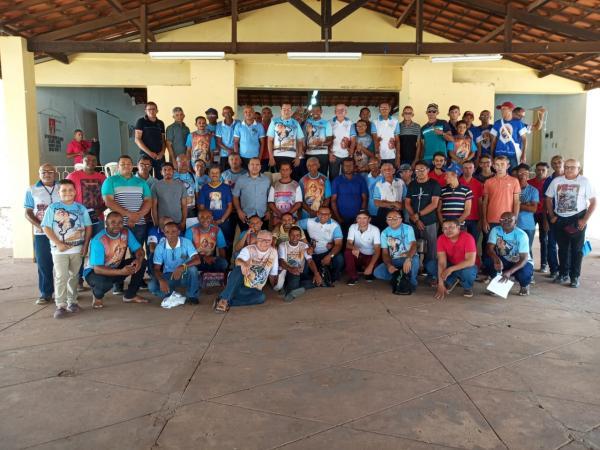 Formação para coordenadores do terço dos Homens aconteceu em Oeiras e Simplício Mendes