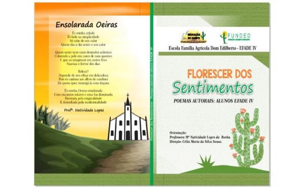 """Escola Agrícola EFADE IV lança livro de poemas """"Florescer dos Sentimentos"""