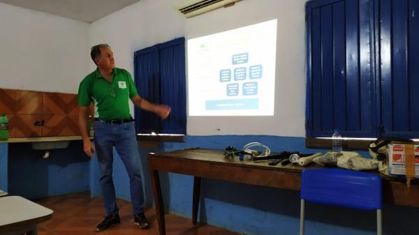 Curso de irrigação beneficiam alunos da escola família agrícola Efade IV em Oeiras