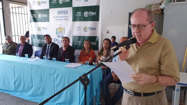 Secretaria de Justiça e Pastoral Carcerária realizam entrega de obras e certificados em Oeiras