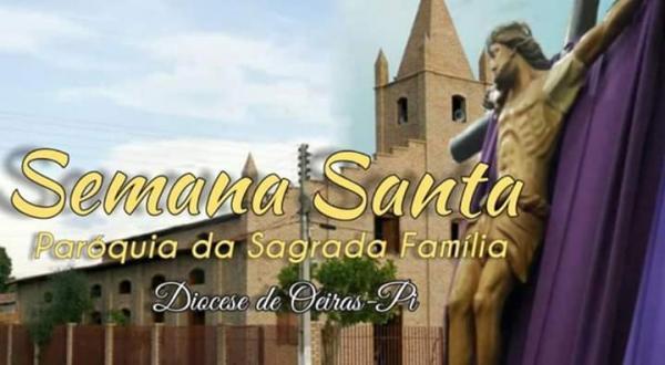 Participe pelos os meios de comunicação da primeira missa que marca o início da Semana Santa em Oeiras, na Paróquia da Sagrada Família.