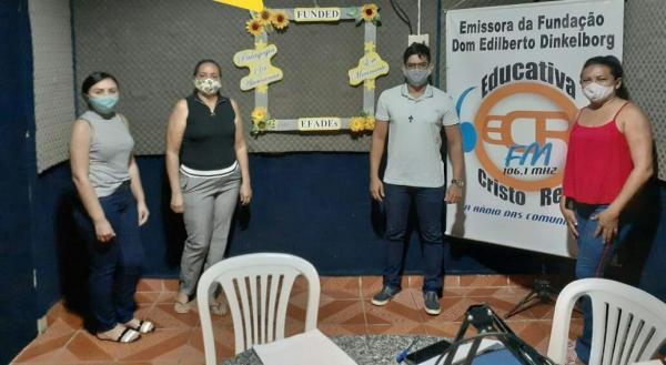 Fundação Dom Edilberto e Escolas Família Agrícola em parceria com Rádio Cristo Rei iniciam aulas via rádio para seus alunos