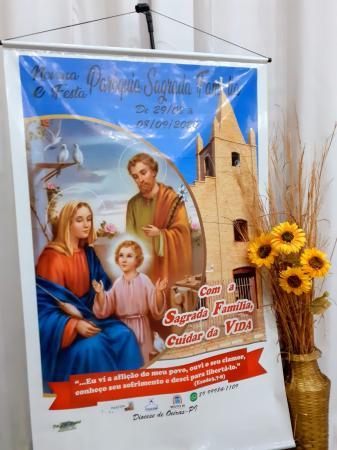 Leilão virtual e atendimento por delivery: Gastronomia é destaque no festejo da Sagrada Família 2020