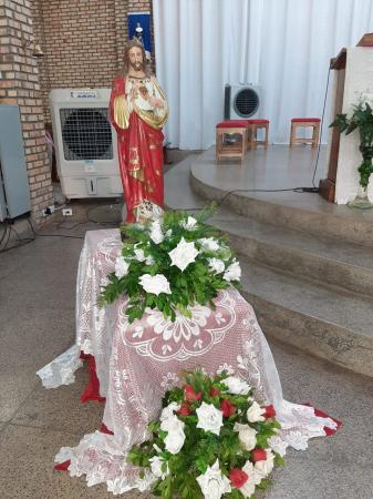 01° Sexta-Feira do mês e do ano marca a primeira Celebração Penitencial na Paróquia da Sagrada Família.