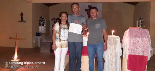 A família Fazenda da Esperança está em festa, pois mais um membro foi recuperado de seus vícios.