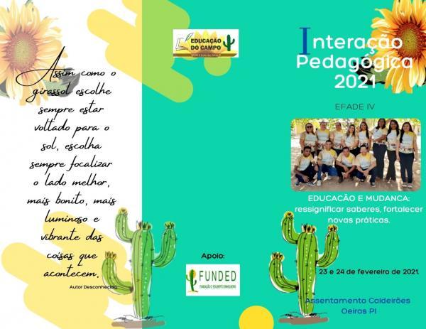 Efade IV Realiza Interação Pedagógica