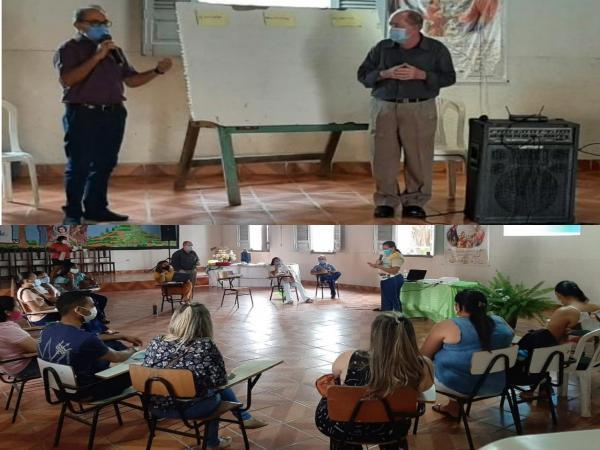 Fundação Dom Edilberto Dinkelborg realiza formação de educadores sobre a filosofia da pedagogia da alternância das EFAS