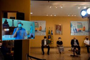 """""""É tempo de cuidar"""" é lançada em todo o Piauí e já arrecada 22 toneladas de alimentos"""