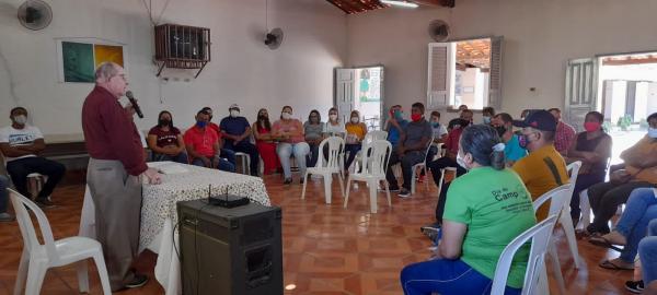 FUNDAÇÃO DOM EDILBERTO PROMOVE FORMAÇÃO PARA NOVOS INGRESSOS NA EQUIPE DAS ESCOLAS FAMÍLIA AGRÍCOLA
