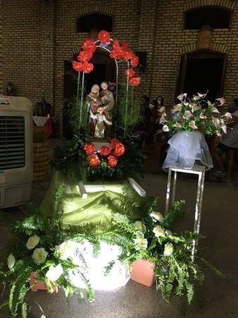 Missa marca enceramento do Festejo da Sagrada Família em Oeiras