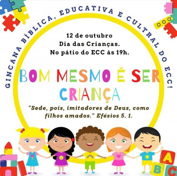 Paróquia da Sagrada Família realiza momento cultural com as crianças no dia da festa da padroeira do Brasil