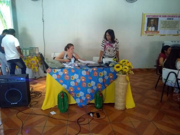 Escolas Família Agrícola IV e V, do Caldeirão em Oeiras e de Santo Inácio do Piauí se reuniram no ECC