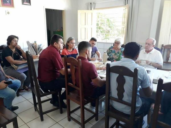 Convite do Pe. João de Deus para o Seminário sobre potencial e futuro do Vale Canindé