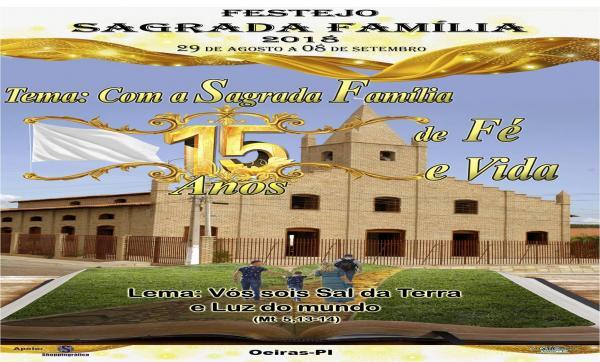 15 Anos da Paróquia da Sagrada Família